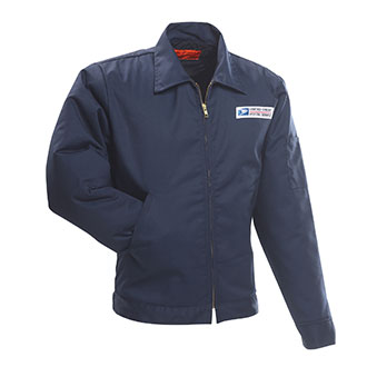 Postal Uniform Jacket for Mail Handlers and Maintenance Pers